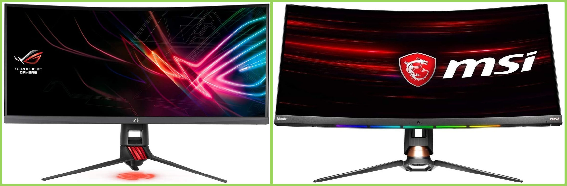 Asus o MSI: ¿cuál es el mejor monitor 2020?