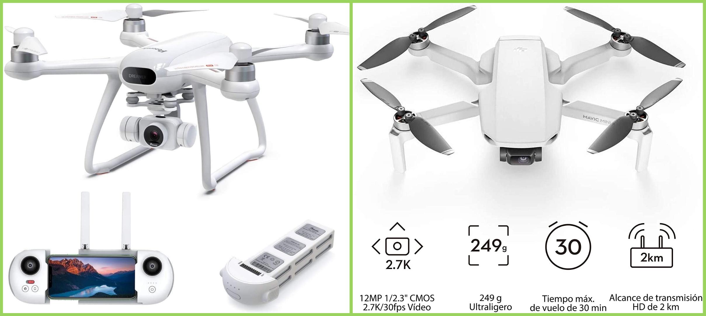 Potensic vs DJI, ¿Cuál es el mejor drone 2021?
