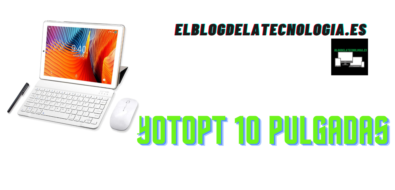 YOTOPT de 10 pulgadas: una tablet con teclado y ratón