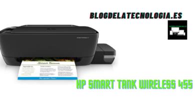 HP Smart Tank Wireless 455: análisis y opiniones