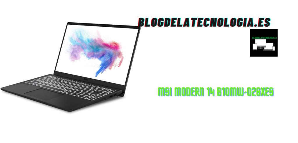 MSI Modern 14 B10MW-026XES: análisis y opiniones