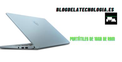Portátiles de 16GB de RAM: los 12 mejores