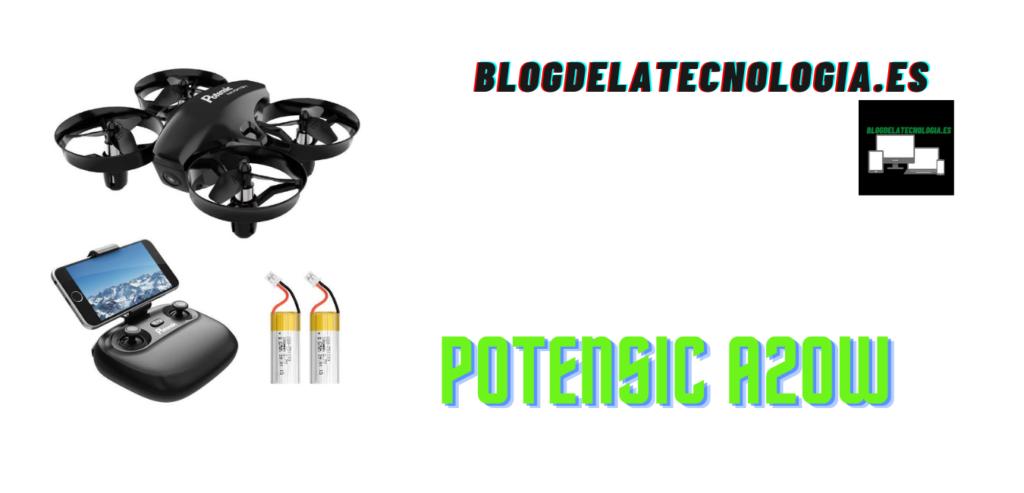 Potensic A20W: tu mejor drone para aprender a volar