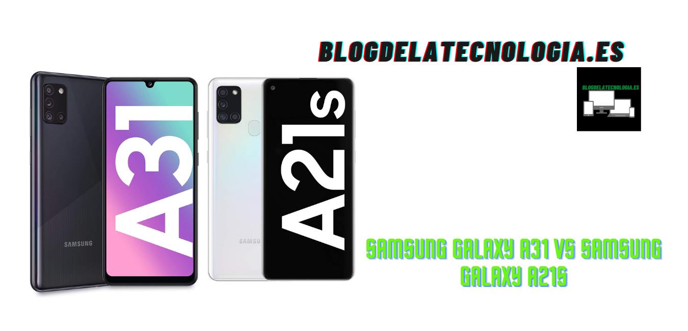 Samsung Galaxy A31 vs Samsung Galaxy A21s