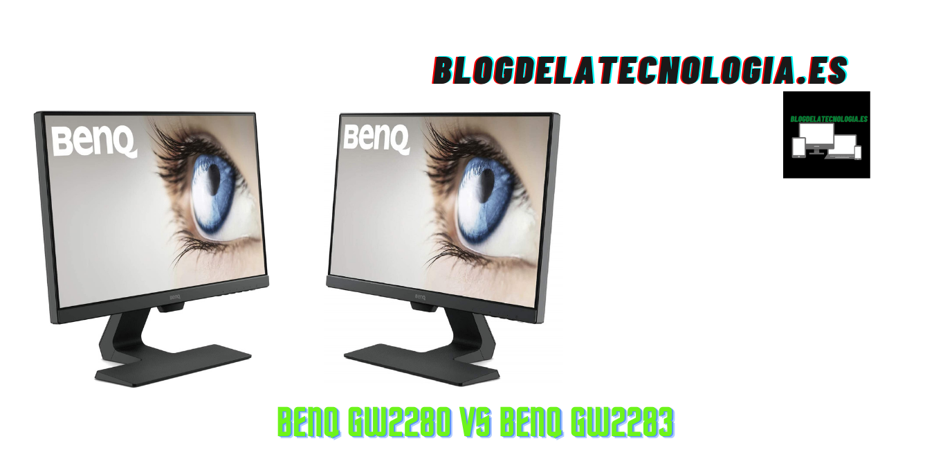 BenQ GW2280 vs BenQ GW2283: ¿Cuál elegir?
