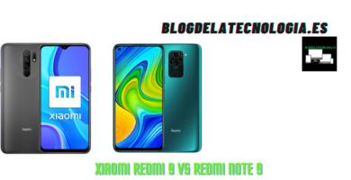 Xiaomi Redmi 9 vs Redmi Note 9