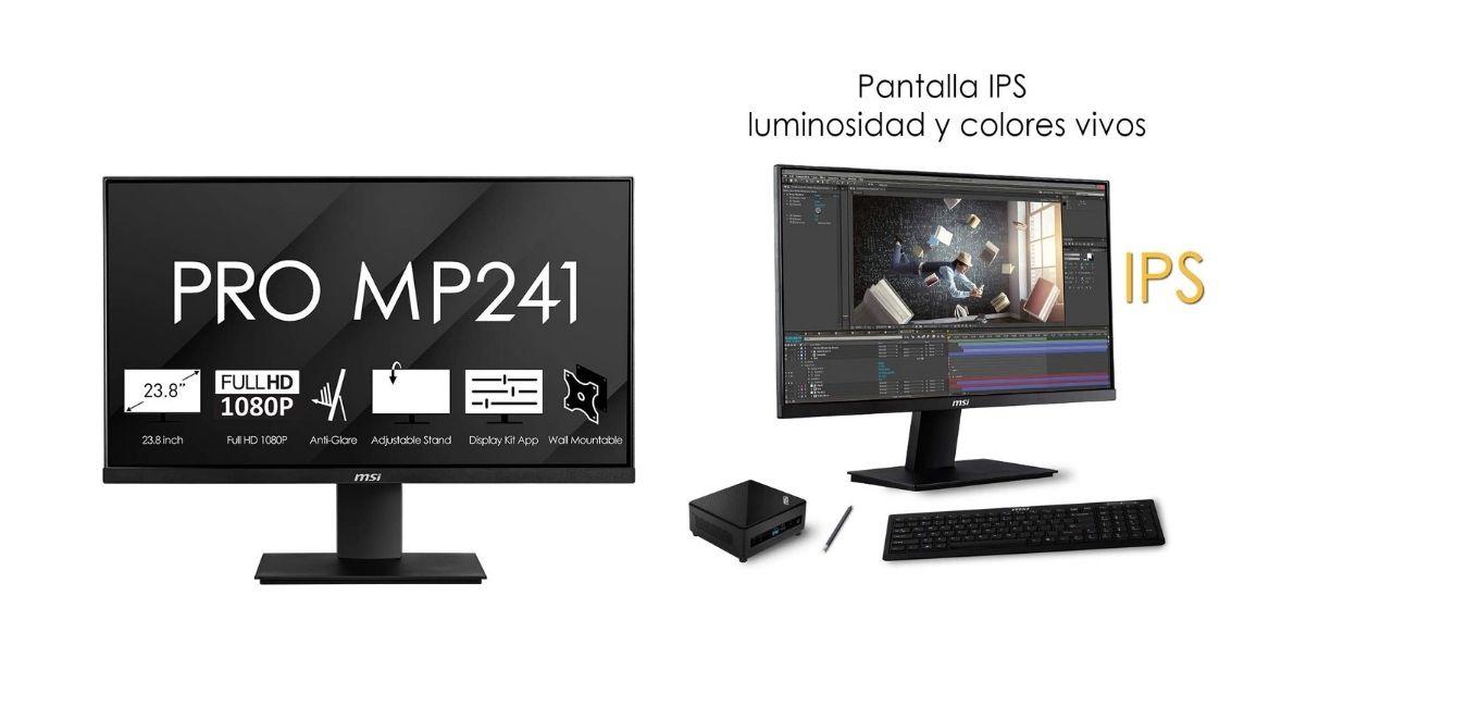 MSI Pro MP241: análisis y opiniones