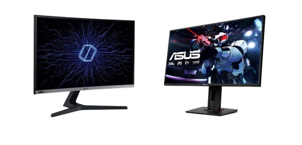 Samsung C27RG50 vs Asus VG279Q: comparativa y opiniones