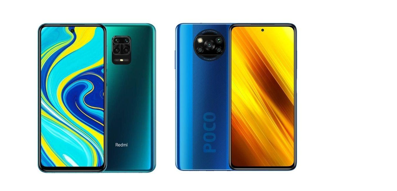 Xiaomi Redmi Note 9S vs Poco X3