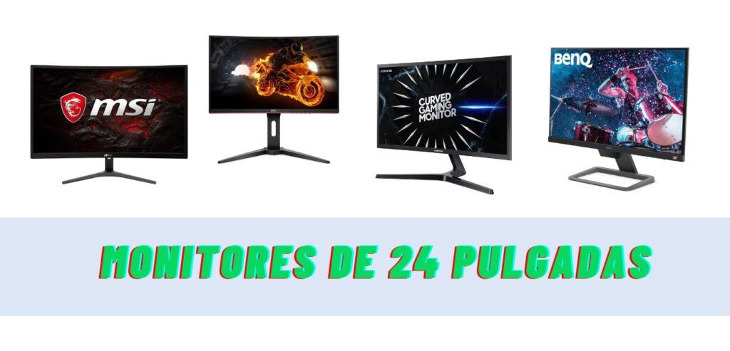 ¿Cuál es el mejor monitor 24 pulgadas?