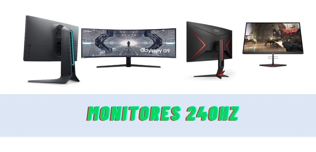 ¿Cúal es el mejor monitor 240Hz de entre estos 12 modelos?