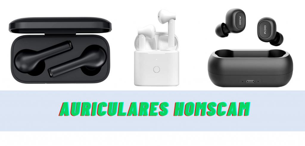 Los 8 mejores auriculares Homscam Bluetooth
