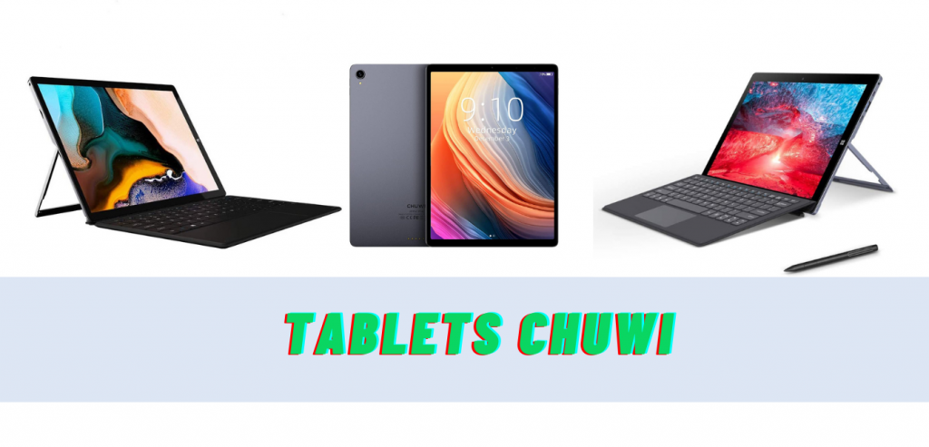 Las 7 mejores tablets Chuwi